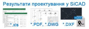 1. Принцип проектування ліній електропередач у SiCAD та результати проектування?
